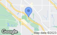 Map of Belleville, IL