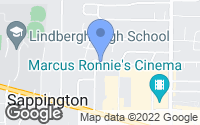 Map of Sappington, MO