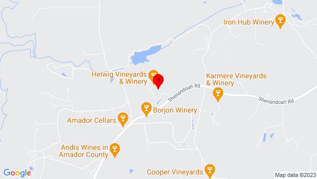 Google Map of 11555 Shenandoah Road, Plymouth, CA 95669