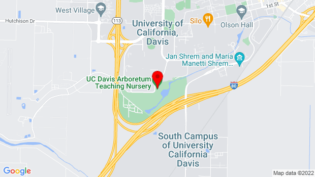 Google Map of 1046 Garrod Drive, Davis, CA 95616