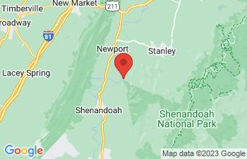 Map of Shenandoah
