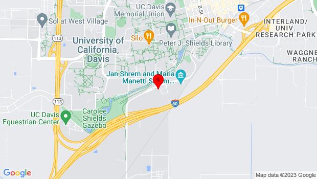 Google Map of 392 Old Davis Road, Davis, CA 95616
