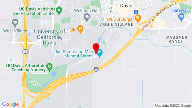 Google Map of 9399 Old Davis Rd, Davis, CA 95616
