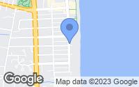 Map of Bethany Beach, DE