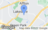 Map of Affton, MO