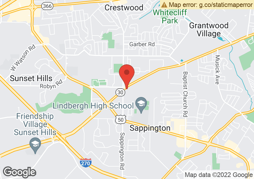 Google Map of 11590 GRAVOIS RD