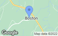 Map of Boston, VA