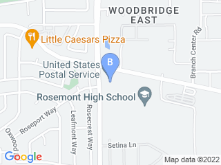 Map of Friendly Faces Pet Services Dog Boarding options in Sacramento | Boarding