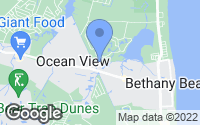 Map of Bethany Beach, DE