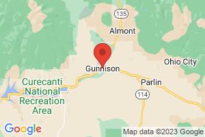 Map of Gunnison