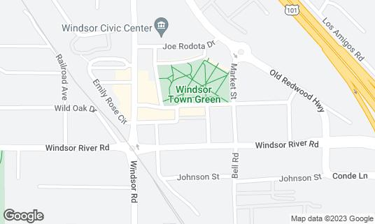 Map of Kin at 740 McClelland Dr Windsor, CA