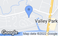 Map of Valley Park, MO