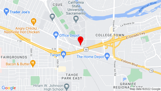 Google Map of 7055 Folsom Blvd., Sacramento, CA 95826