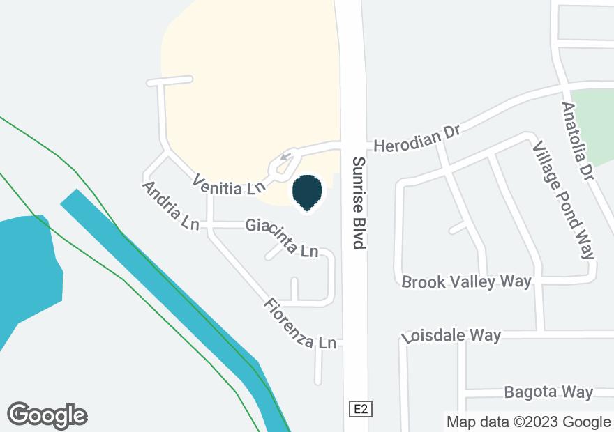 Google Map of4050 SUNRISE BLVD