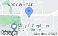 Map of Davis, CA