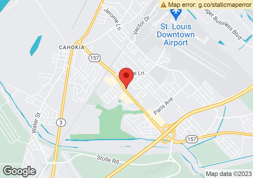 Google Map of 1201 CAMP JACKSON RD