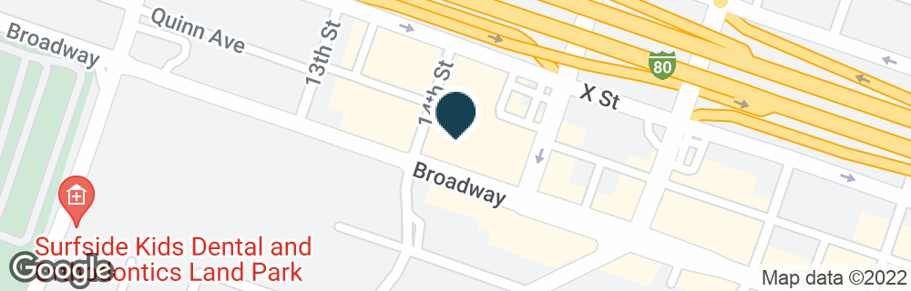 Google Map of1401 BROADWAY