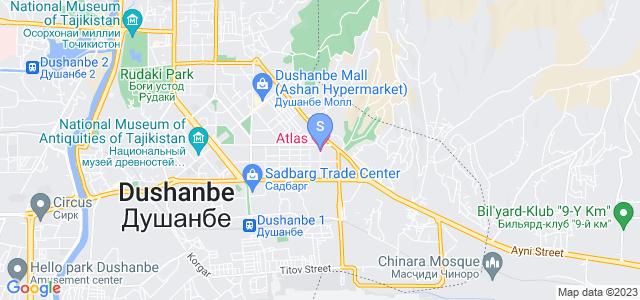 Location of Atlas on map