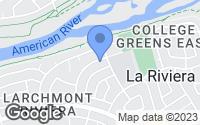 Map of Sacramento, CA