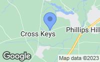 Map of Millsboro, DE