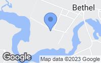 Map of Bethel, DE