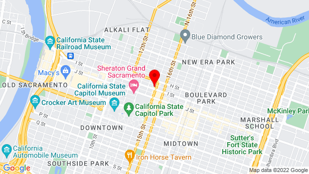 Google Map of 1431 I St., Sacramento, CA 95814