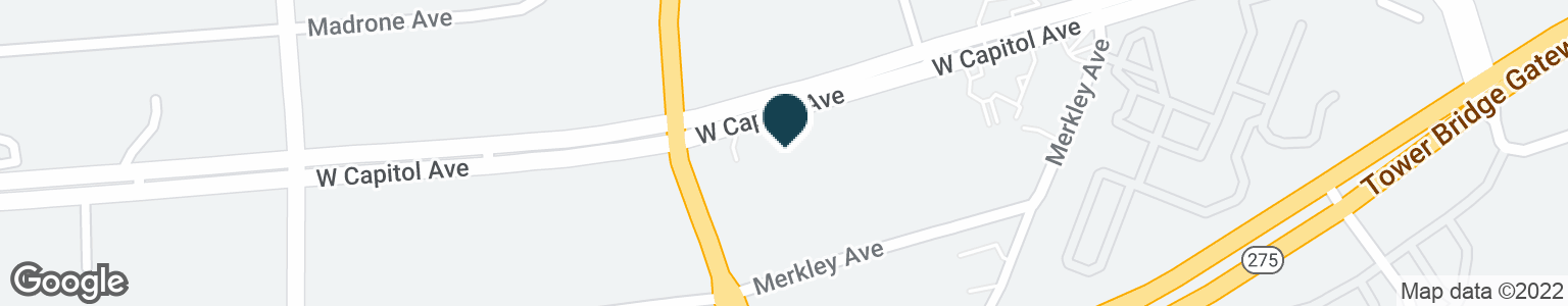 Google Map of1351 W CAPITOL AVE