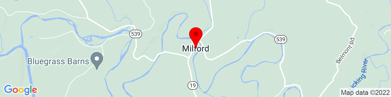 Google Map of 38.5817399, -84.1565983