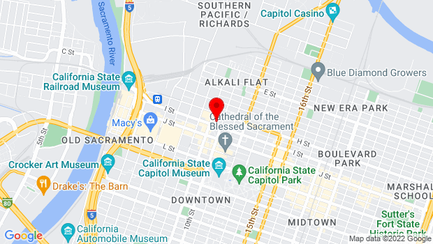 Google Map of 915 I Street, Sacramento, CA 95814