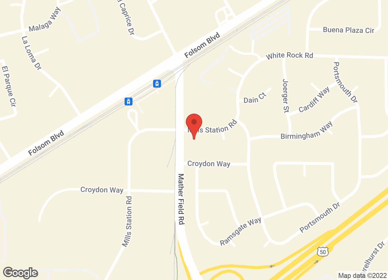 Google Map of VCA Cordova Veterinary Hospital