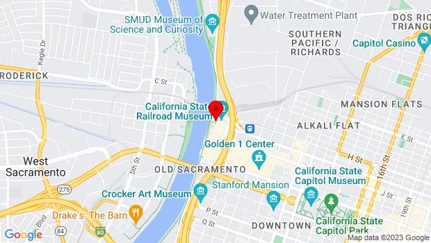 Google Map of 101 I Street, Sacramento, CA 95814