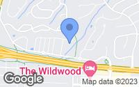 Map of Wildwood, MO