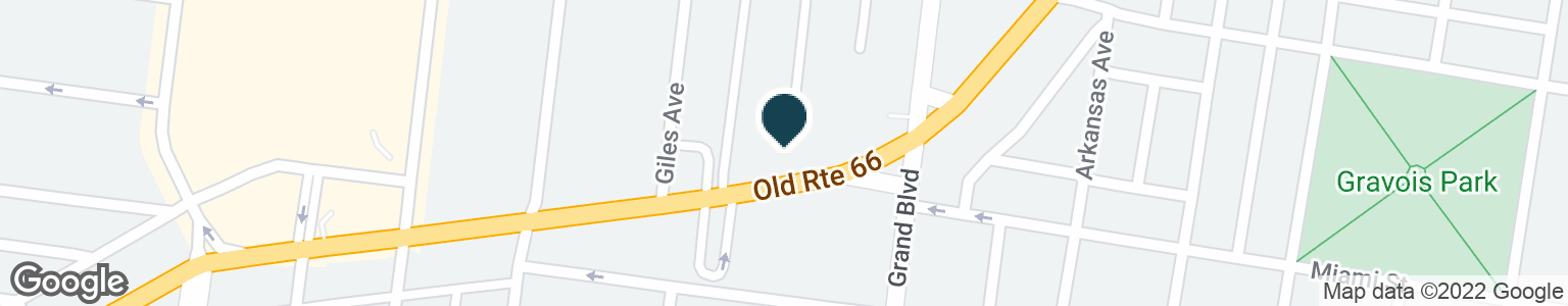 Google Map of3631 GRAVOIS AVE