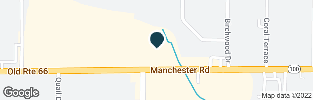 Google Map of15253 MANCHESTER RD