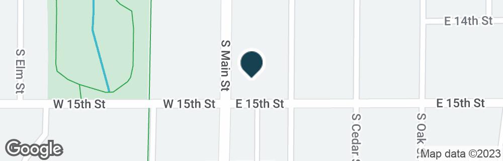 Google Map of1445 S MAIN ST