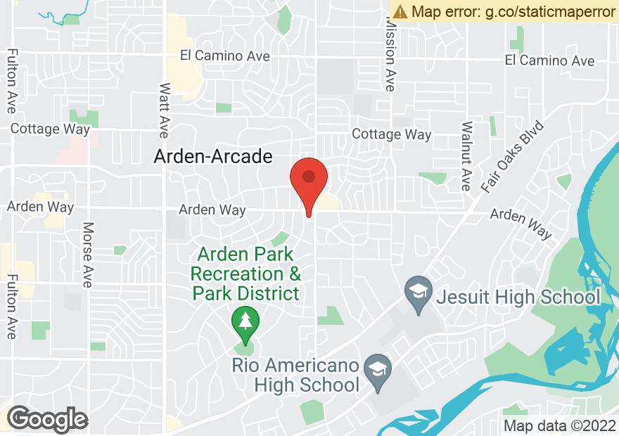 Google Map of 4200 ARDEN WAY