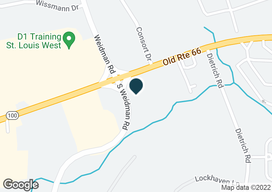 Google Map of13992 MANCHESTER RD