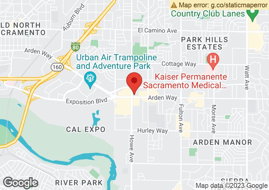 Google Map of 2201 ARDEN WAY
