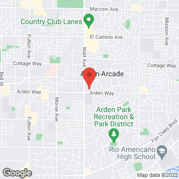 Map of Rite Aid at 1730 Watt Avenue, Sacramento, CA 95825
