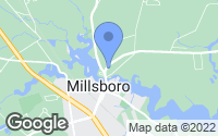 Map of Millsboro, DE