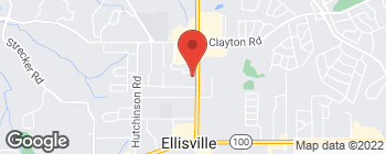 Map of 167 Clarkson Executive Park in Ellisville