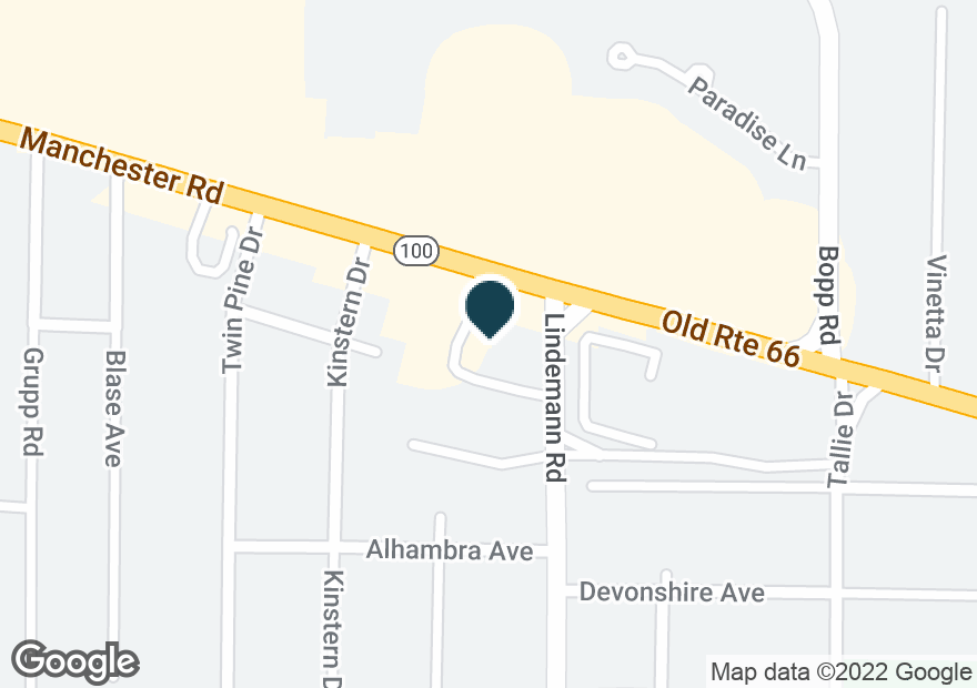 Google Map of12006 MANCHESTER RD