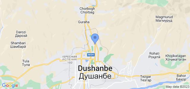 Aba Travel Tajikistan on map