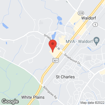 Map of Citi Trends at 1230 Smallwood Drive West, Waldorf, MD 20603