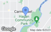 Map of Carmichael, CA