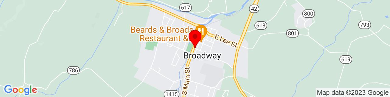 Google Map of 38.6131746, -78.79891239999999