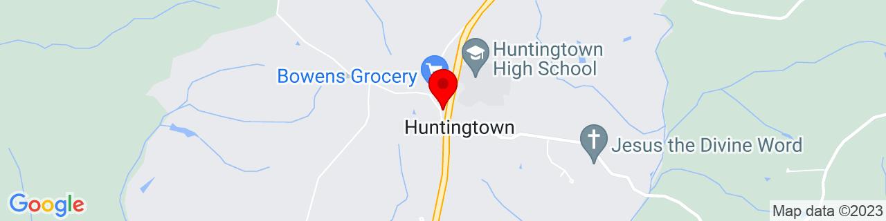 Google Map of 38.61595330000001, -76.61301499999999
