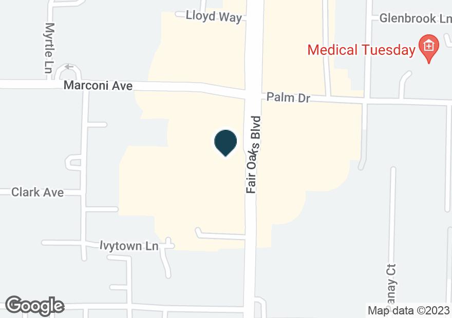 Google Map of6325 FAIR OAKS BLVD