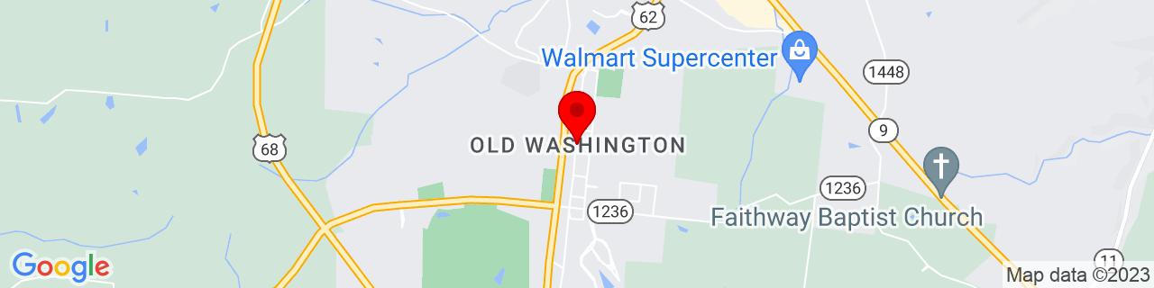 Google Map of 38.6161549, -83.80849719999999