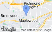 Map of Maplewood, MO